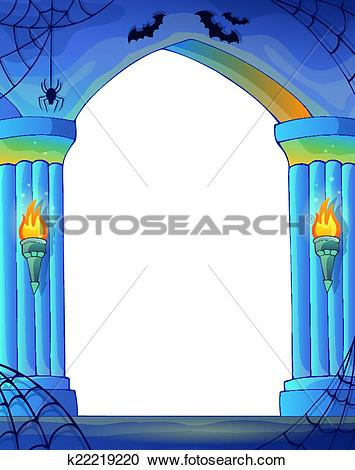 Clipart of Wall alcove image 3 k22219220.