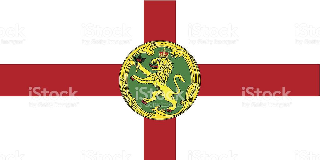 Alderney Flag stock vector art 166100180.