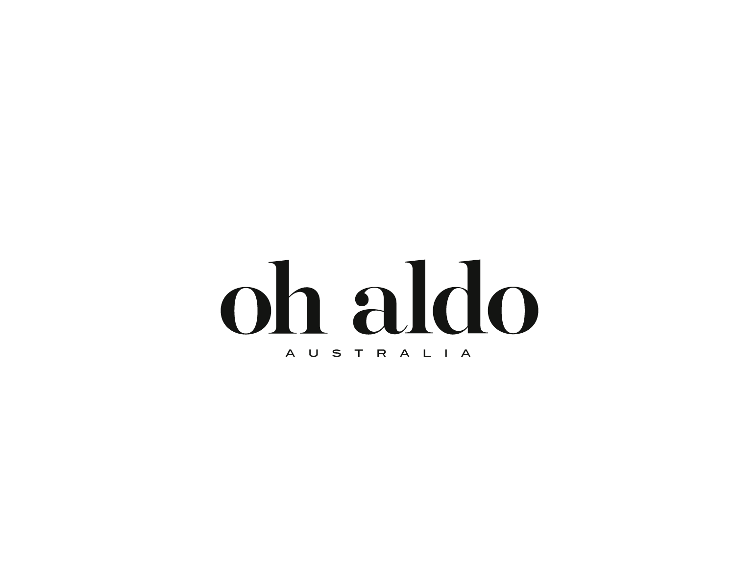 Elegant, Playful, Product Logo Design for oh aldo by.