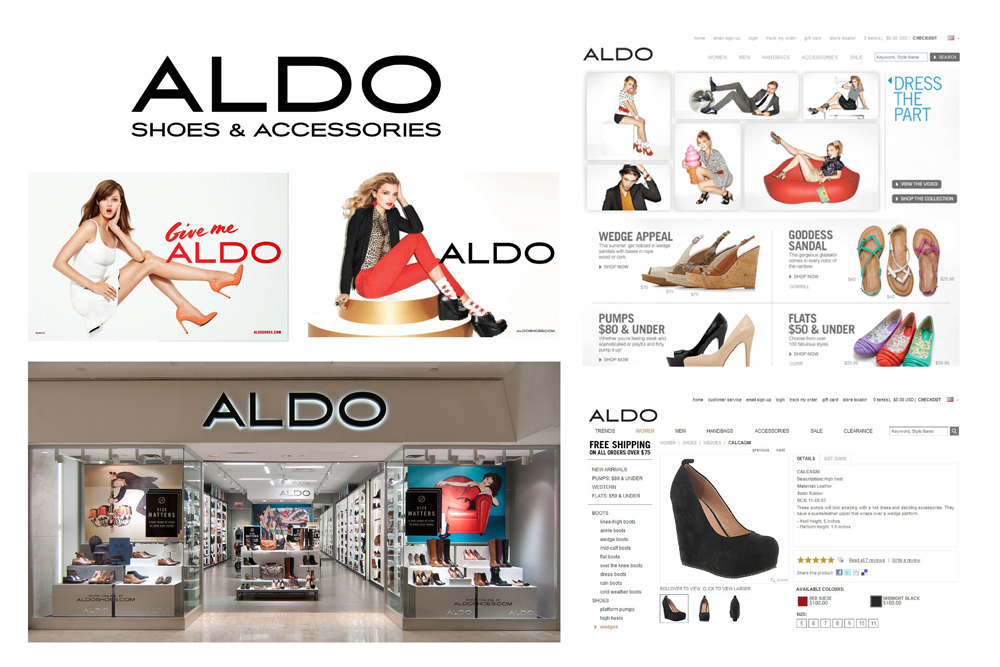 Brand New: New Logo and Identity for ALDO by COLLINS.