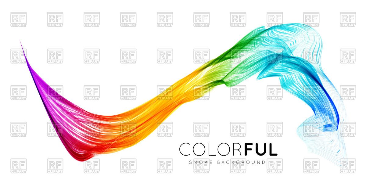 Abstract spectrum wave background Vector Image #73968.