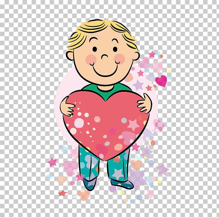 Dibujo infantil de dibujos animados, niño, alegría, dibujo.