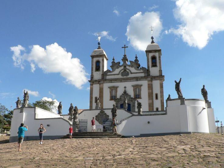 Sanctuary_of_Bom_Jesus de Matosinhos Congonhas, Mg, Brasil.