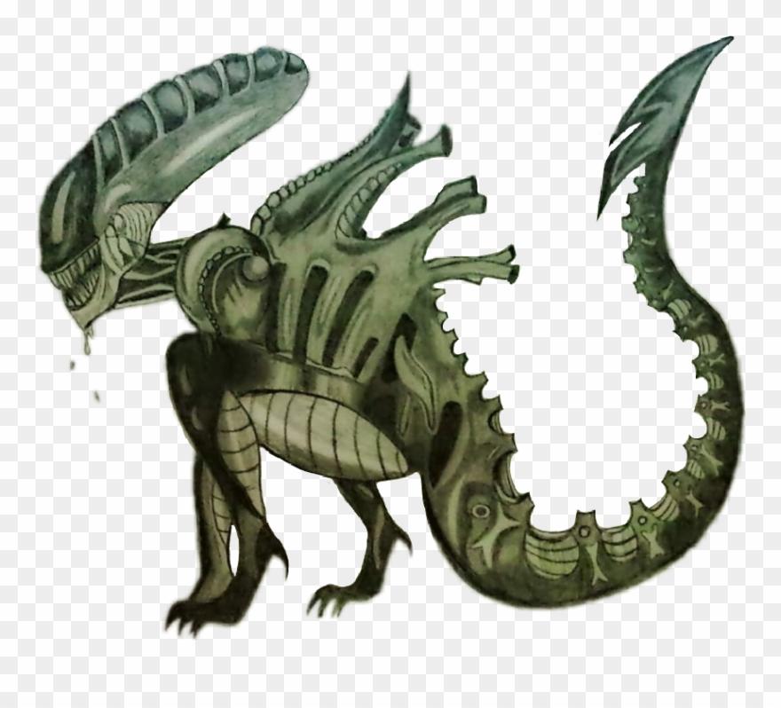 Alienstickers Alien Xenomorph Movie Drawing.