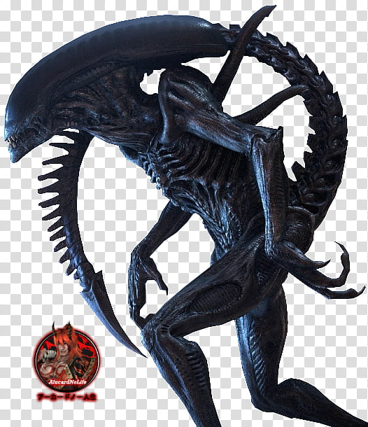 Xenomorph) Alien Render transparent background PNG clipart.