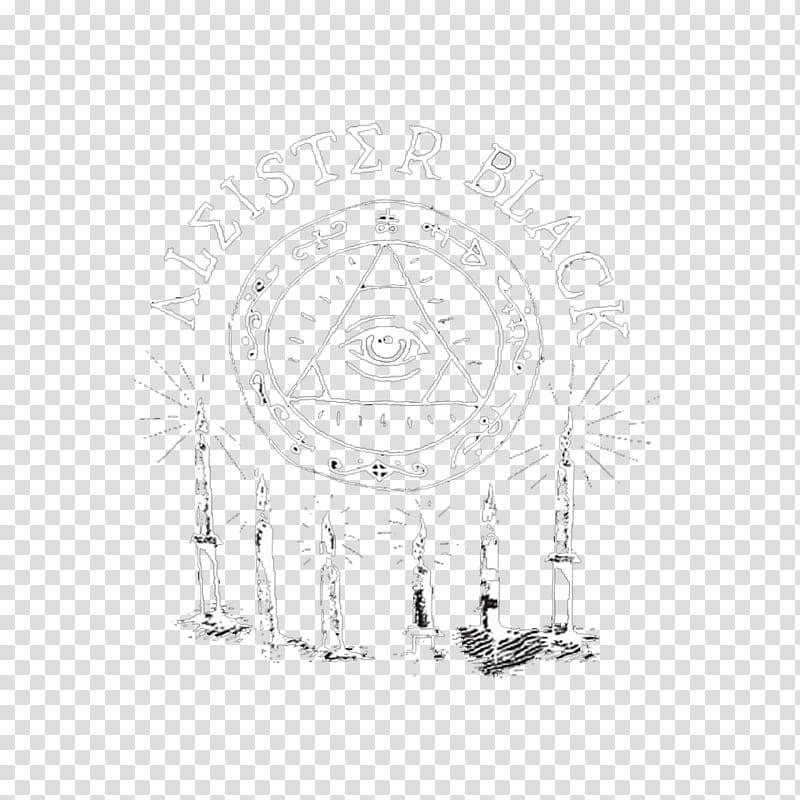 Aleister Black Tee Logo transparent background PNG clipart.