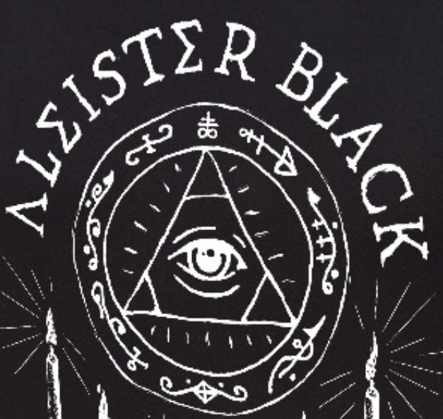 Aleister Black logo.