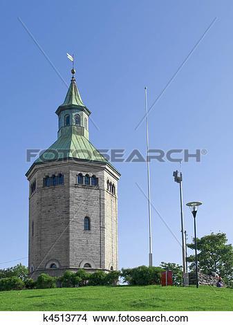Stock Photo of Stavanger Watchtower k4513774.