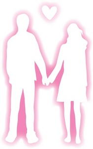 Aleph Bet Boy And Girl Clipart.
