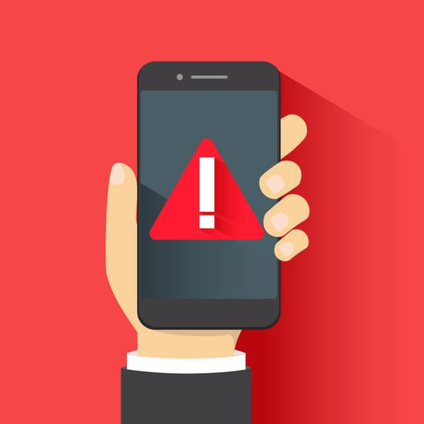 Top 60 Phone Alert Clip Art, Vector Graphics and Illustrations.