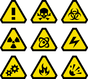 1454 warning signs clip art free.