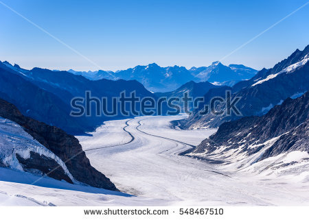 """great Aletsch Glacier"" Stock Photos, Royalty."