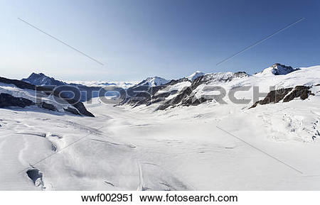 Stock Photography of Switzerland, Bernese Oberland, Aletsch.