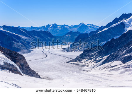 """great Aletsch Glacier"" Stock Photos, Royalty."