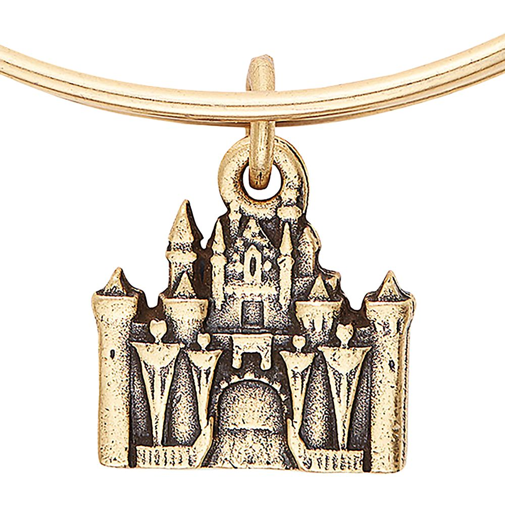 Sleeping Beauty Castle Figural Bangle by Alex and Ani.