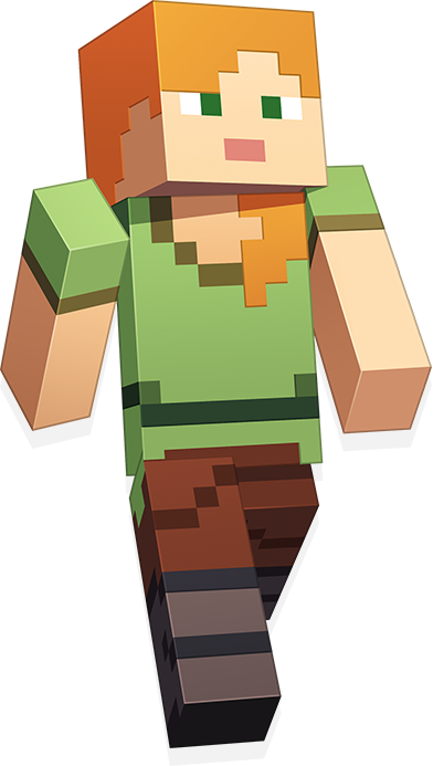Minecraft alex png Transparent pictures on F.