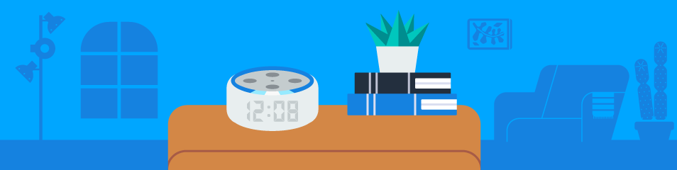 Build Skills on Echo Dot with Clock with Alexa Presentation.