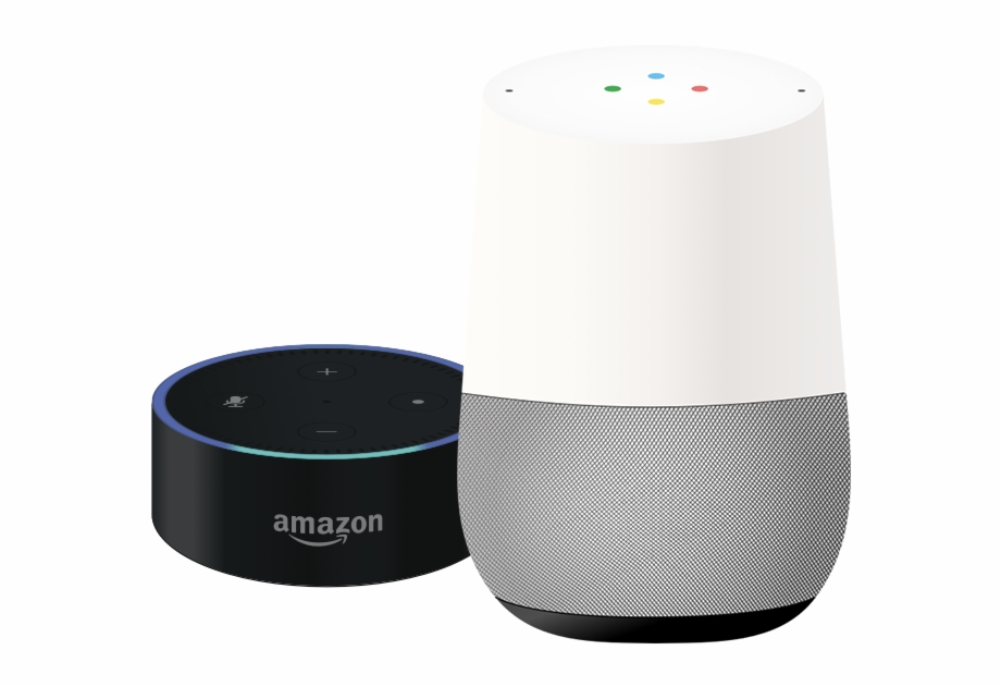 Amazon Dot Google Home.