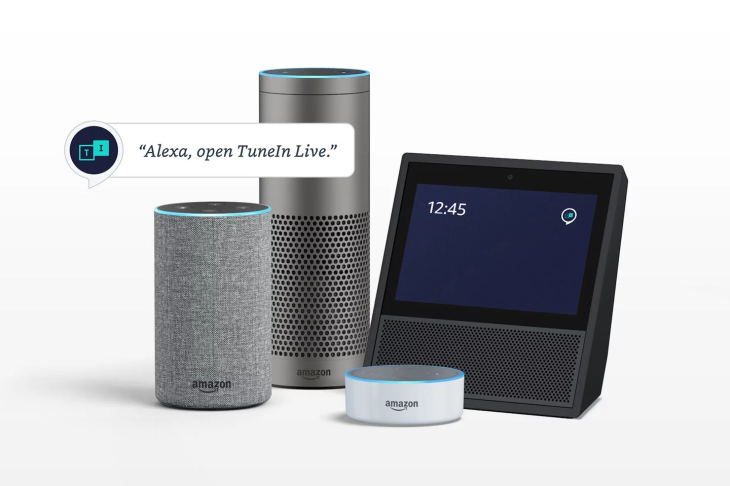 TuneIn launches a discounted audio subscription for Alexa owners and.