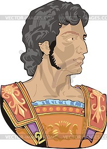 Alexander the great clipart.