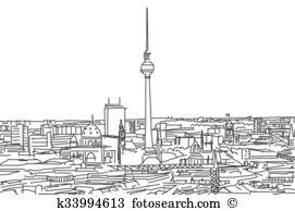 Alexanderplatz Clipart Vector Graphics. 16 alexanderplatz EPS clip.