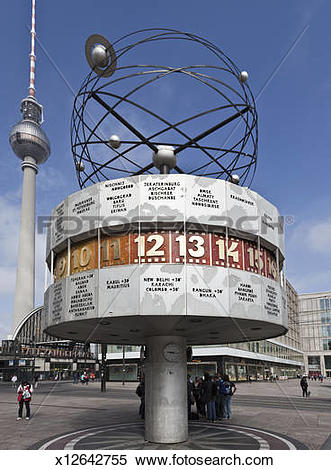 Stock Image of Germany. Berlin. Alexanderplatz. x12642755.