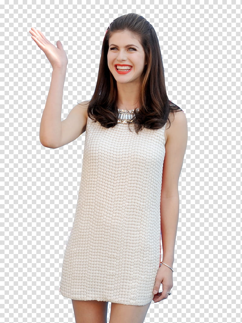 Alexandra Daddario transparent background PNG clipart.