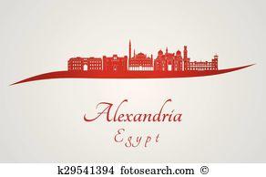 Alexandria Clip Art Illustrations. 110 alexandria clipart EPS.
