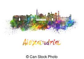 Alexandria skyline Illustrations and Clipart. 8 Alexandria skyline.