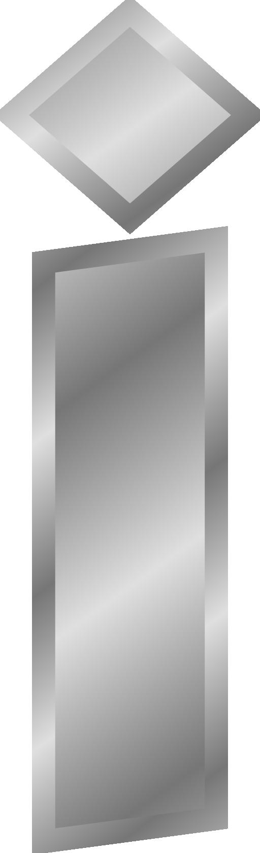 Effect Letters Alphabet Silver Clipart.