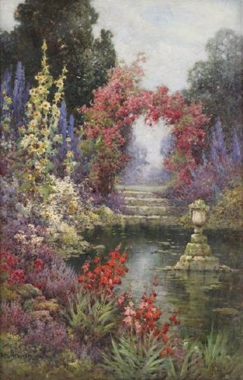 1000+ images about Gardens in paint on Pinterest.