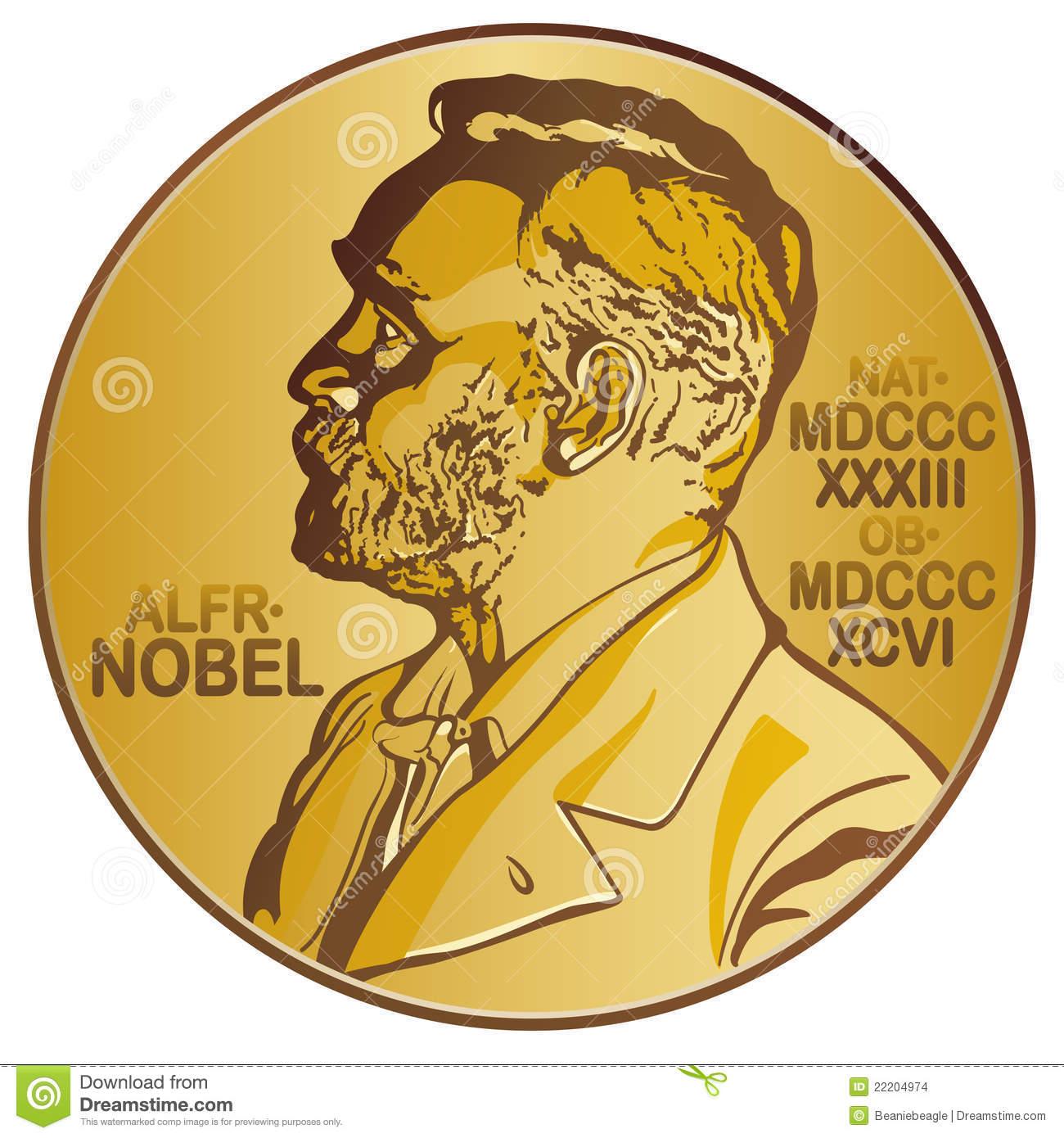 Nobel prize clipart.