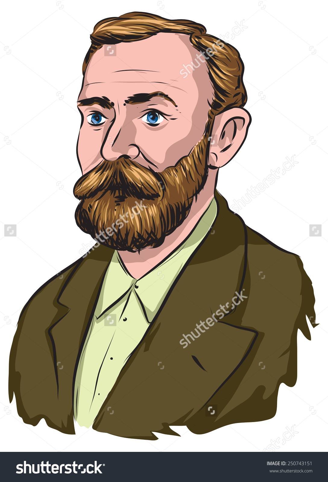 Alfred Nobel Stock Vector 250743151.