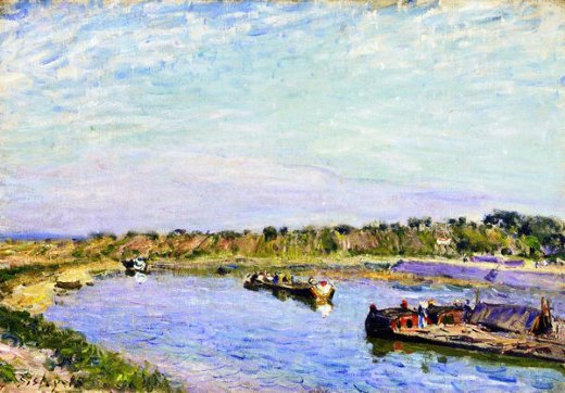 Alfred Sisley Famous Paintings.