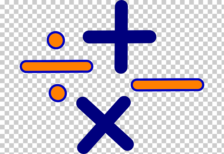 Mathematics Multiplication Algebra , Cartoon Math Symbols.