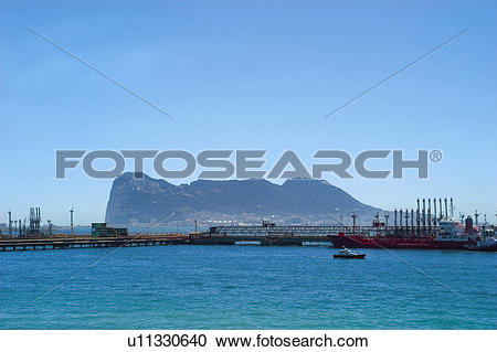 Stock Photography of Spain, Andalucia, Andalusia, Cadiz, Gibraltar.