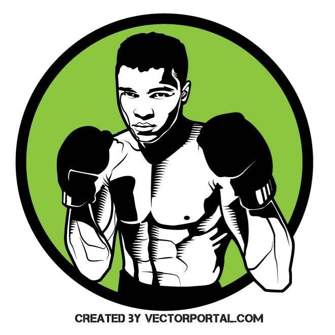 Muhammad Ali Clip Art.