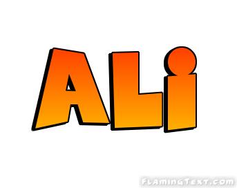 Ali Logo.