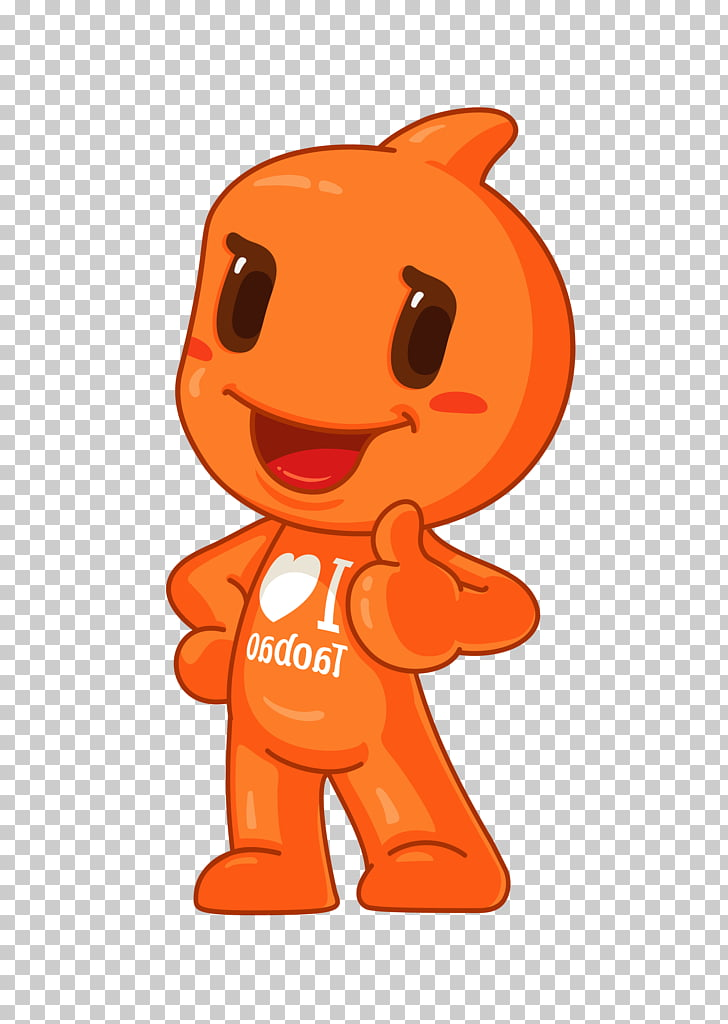China Alibaba Group Taobao Mascot Costume, Taobao Doll PNG.