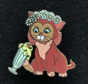 Details about Dinah Pin Traders Delight Disney Fantasy Pin LE 76/100 HTF  Cat PTD Wonderland.