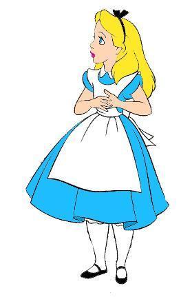 Alice in wonderland clipart hostted.