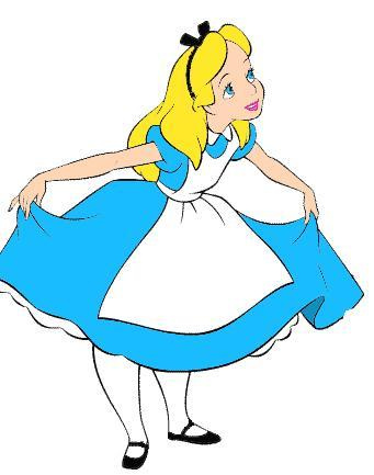 Free alice in wonderland clip art clipart on ClipArt.