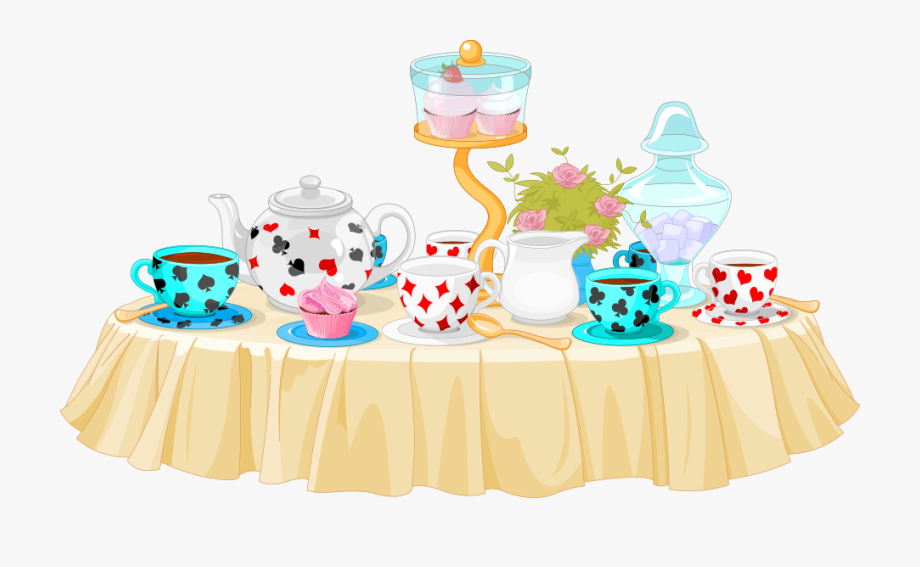 Party Clip Art Vector Table Material.