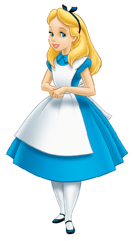 Disney Alice Clipart.