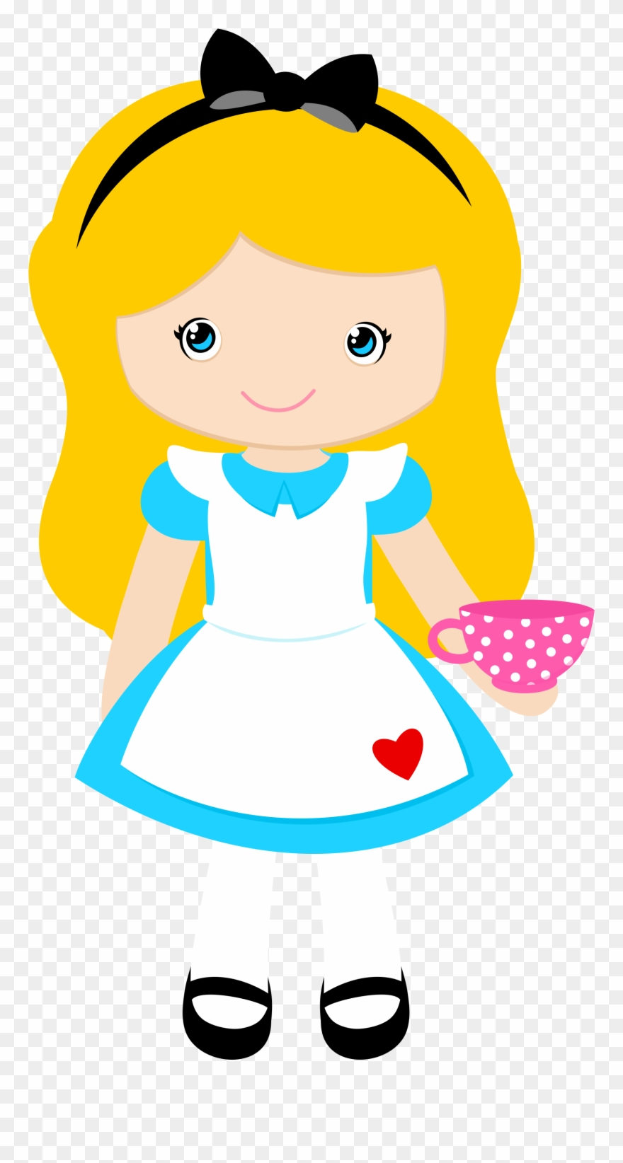 Alice In Wonderland Clipart, Alice In Wonderland Party.