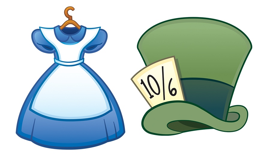 Alice In Wonderland Hat Clipart.