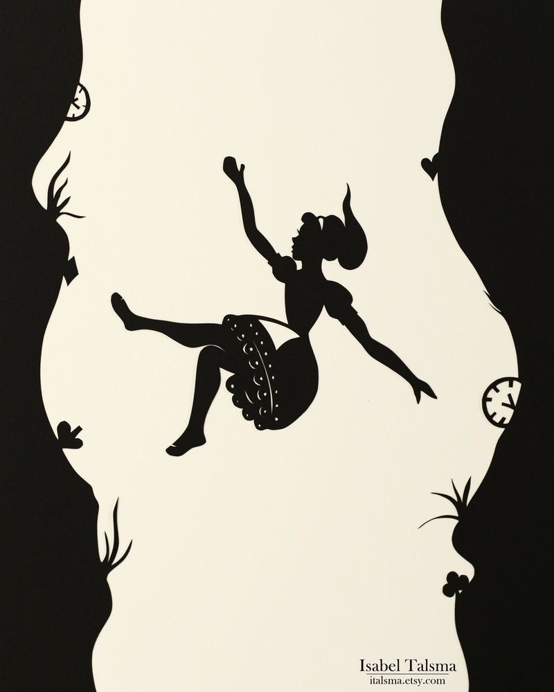Alice in Silhouette: Falling Down the Rabbit Hole in 2019.