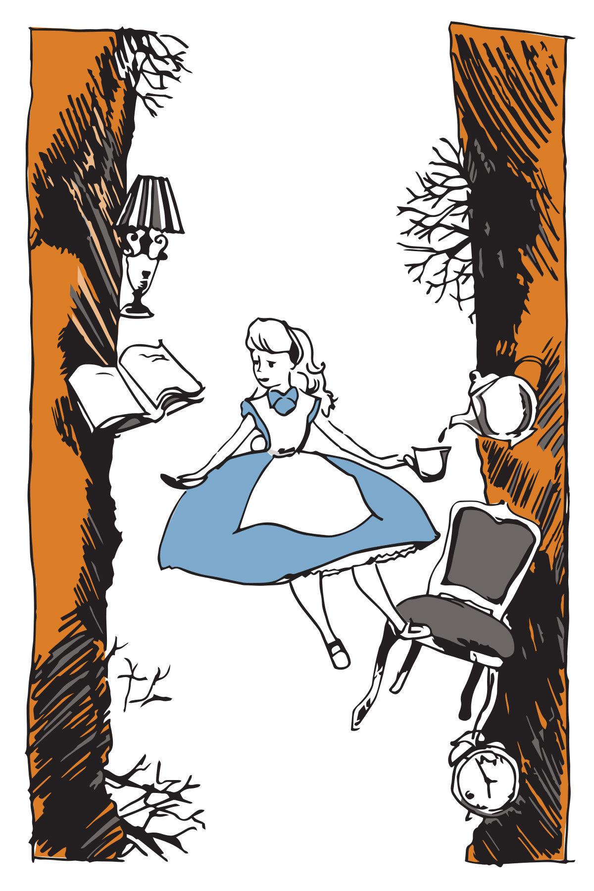 How to Handle the Freefall of Faith Like Alice in Wonderland.