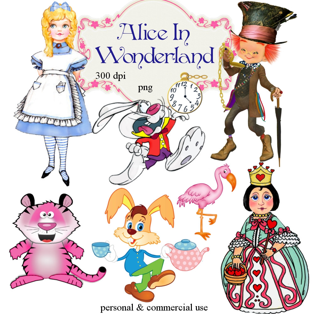 Free Alice In Wonderland Clipart, Download Free Clip Art.