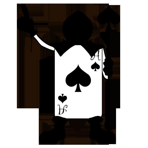 Alice\'s Adventures in Wonderland Playing card Joker.